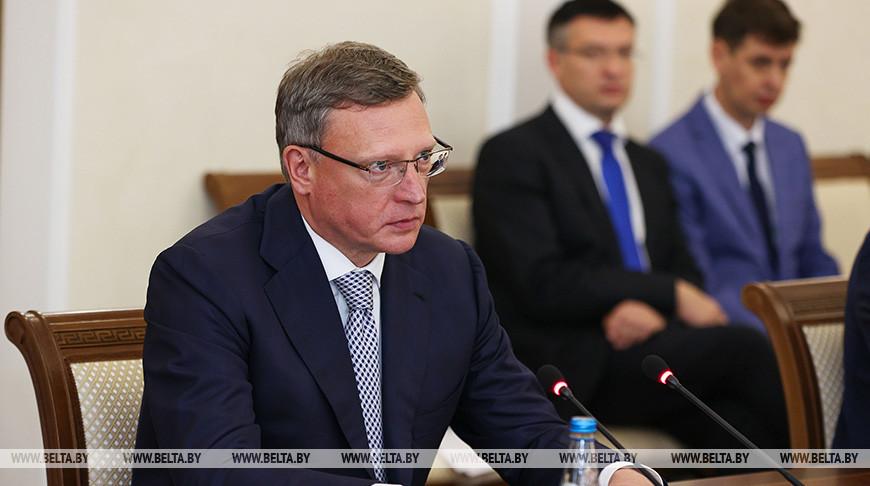 Головченко встретился с губернатором Омской области