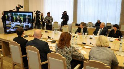 Заседание Межпарламентской комиссии Совета Республики и Совета Федерации по межрегиональному сотрудничеству прошло на Форуме регионов