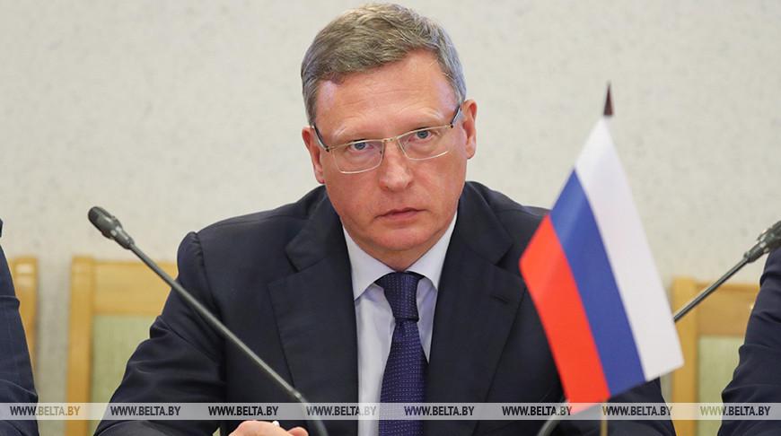 Делегация Омской области встретилась с руководством Могилевского облисполкома