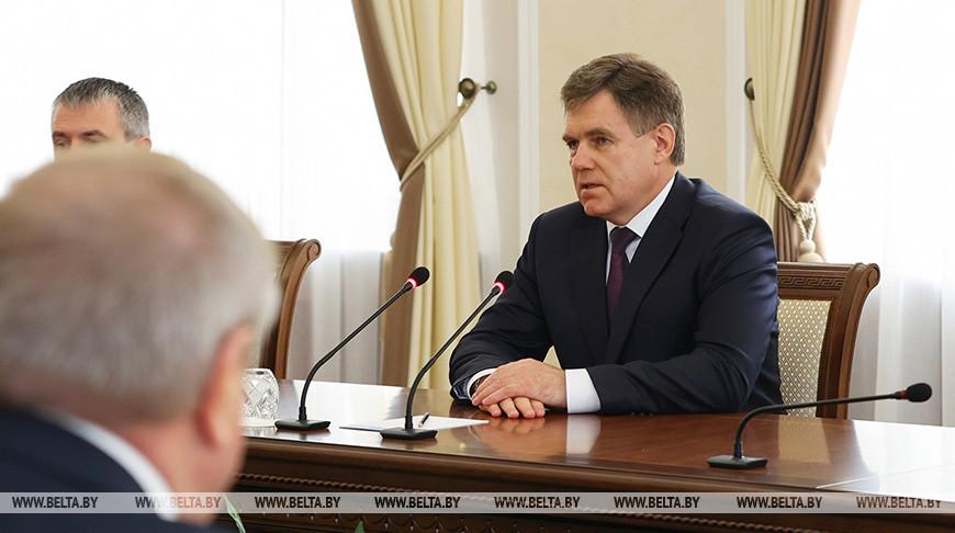 Петришенко встретился с губернатором Брянской области