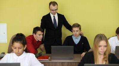 Более 30 молодых педагогов приступили к работе в новой минской школе №52
