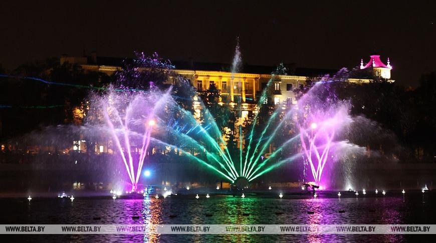 Сезон работы фонтанов завершился в Минске