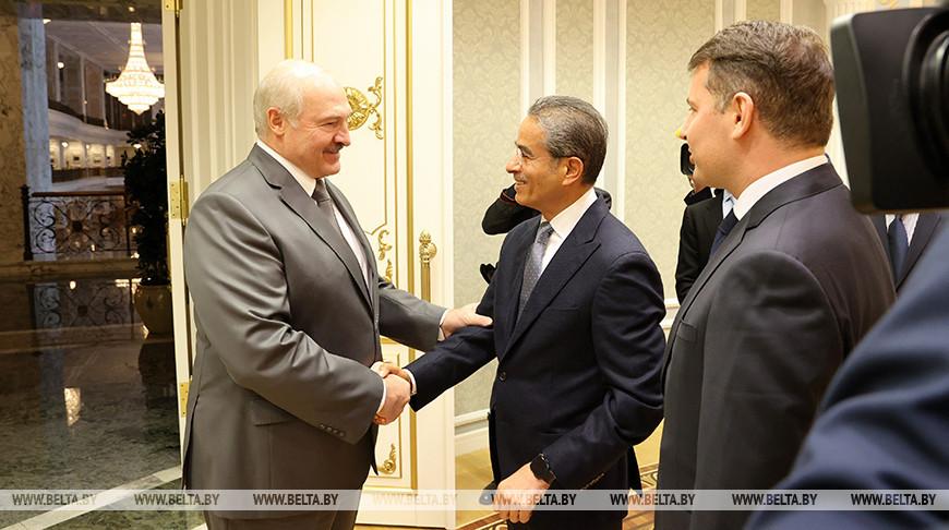 Лукашенко встретился с председателем совета директоров компании Emaar Properties Мухаммедом Али аль-Аббаром