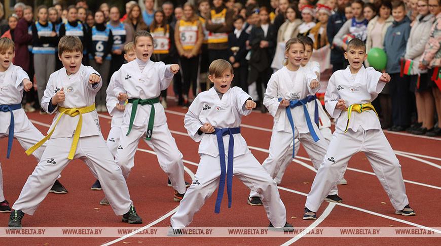 В Витебске открыли новый спорткомплекс для школьников
