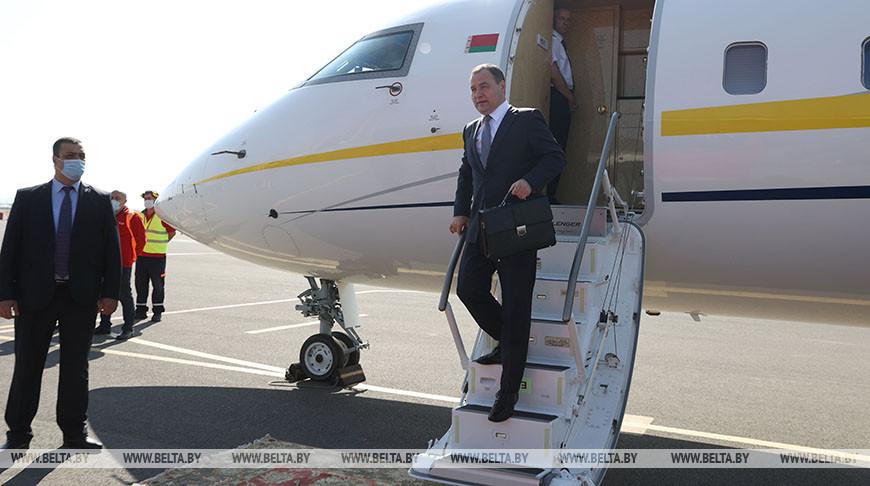 Головченко прибыл в Ереван для участия в заседании Евразийского межправсовета