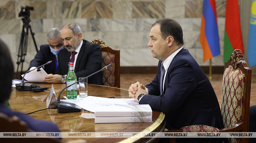Заседание Евразийского межправсовета в Ереване в узком составе