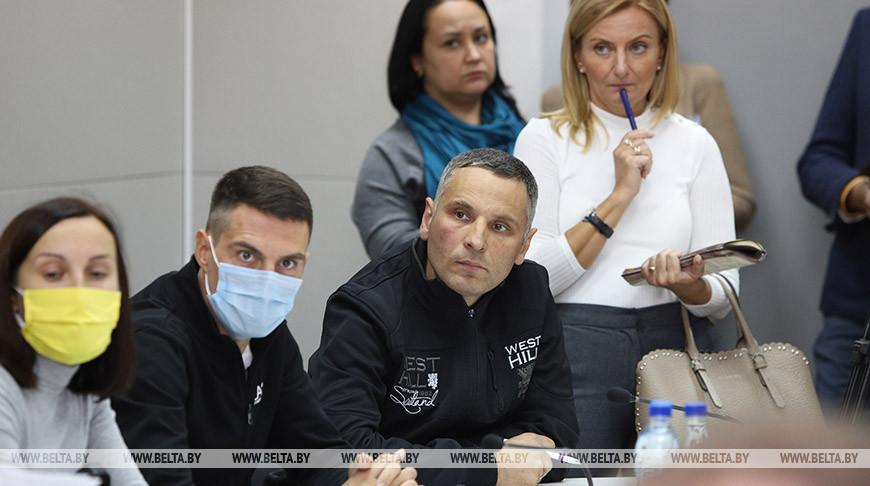 В Брестском облисполкоме прошла встреча с общественностью по вопросу строительства аккумуляторного завода