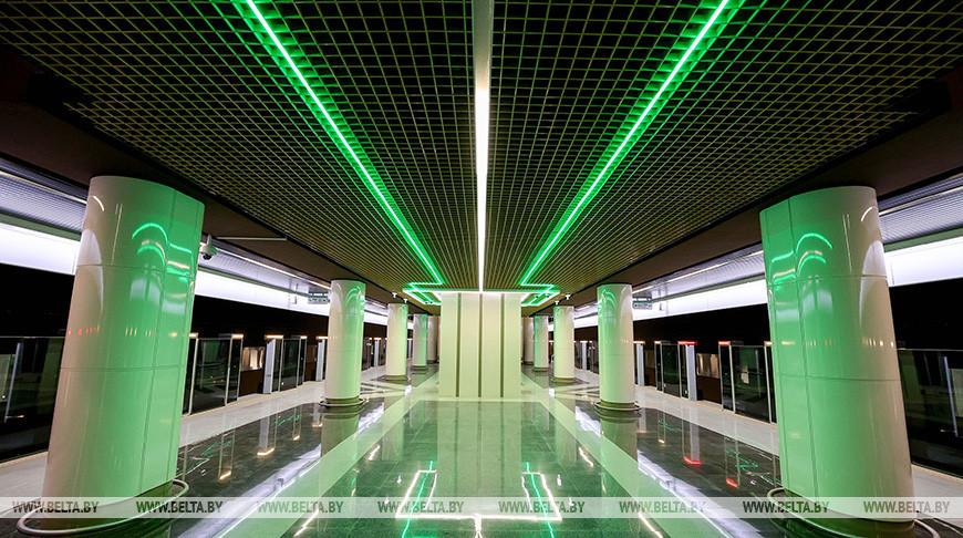 Четыре станции третьей линии минского метро готовятся к вводу в эксплуатацию