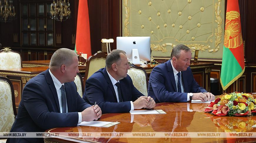 Лукашенко назначил Мартынюка помощником Президента - инспектором по Могилевской области