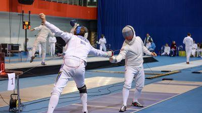 Открытый чемпионат по фехтованию проходит в Минске