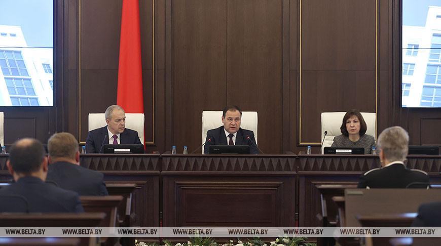 Заседание Совета Министров прошло в Минске