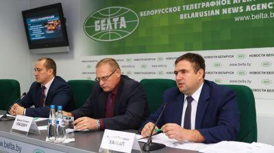 Пресс-конференция о развитии дорожной инфраструктуры Минска прошла в БЕЛТА