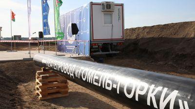 """""""Гомельтранснефть Дружба"""" приступила к строительству нефтепровода Гомель - Горки"""