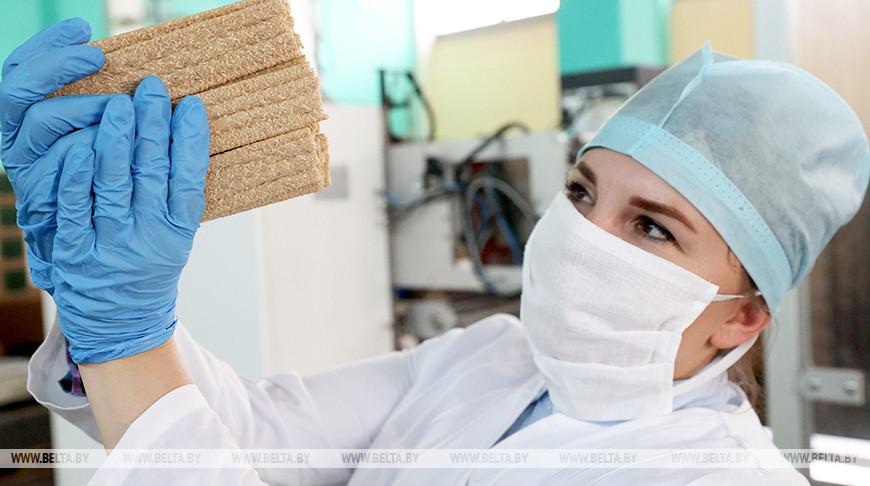 Полоцкий хлебозавод стал выпускать новые виды хлебцев по итальянской технологии