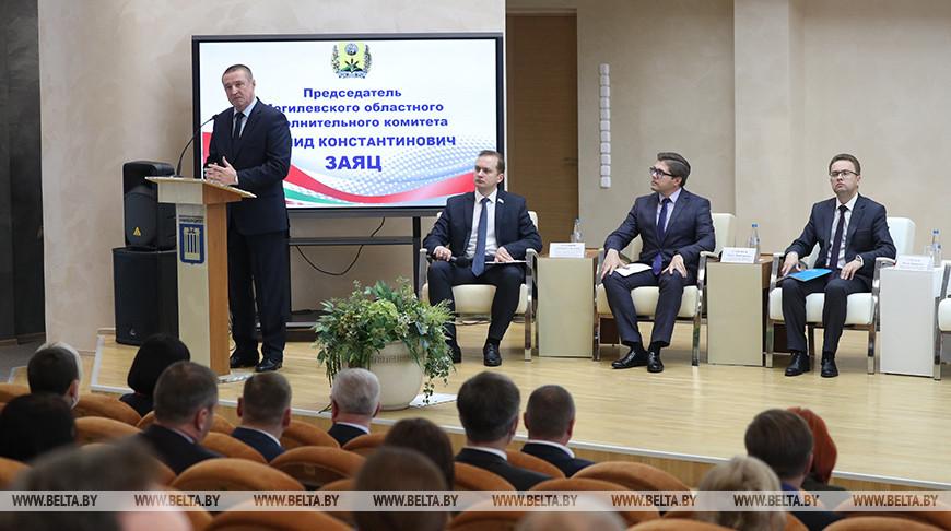 Итоги региональных дискуссий по актуальным вопросам развития страны подвели в Могилеве