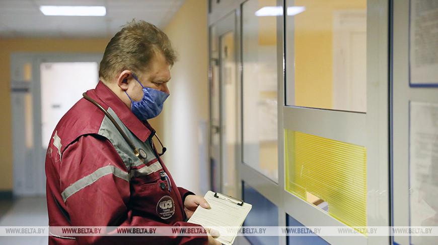 Службе скорой помощи Минска исполнилось 110 лет