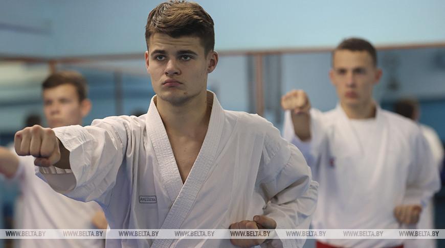 Команда Минска по карате четвертый год подряд стала чемпионом Беларуси