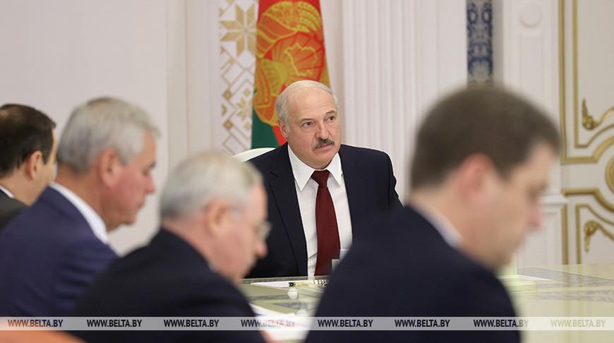 Лукашенко провел совещание по подготовке шестого Всебелорусского народного собрания