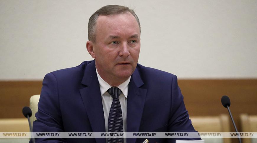 Нового помощника Президента - инспектора по Могилевской области представили руководству региона