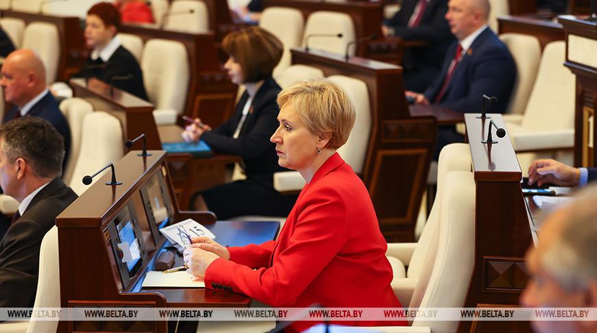 Заседание четвертой сессии Палаты представителей Национального собрания проходит в Минске