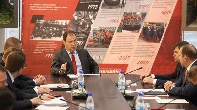 Головченко посетил предприятия в Бобруйске