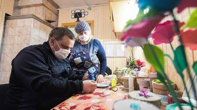 Центр соцобслуживания населения Витебского района помог найти любимую работу своему подопечному