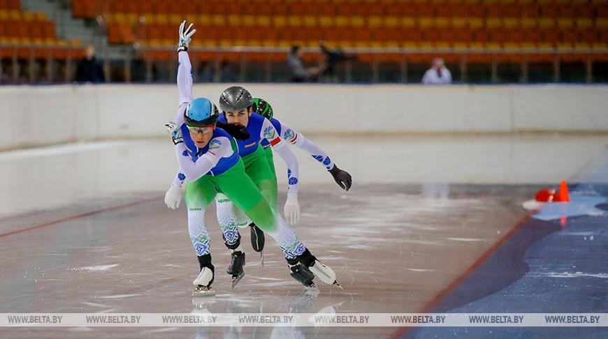 Чемпионат Беларуси по конькобежному спорту в Минске