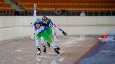 Чемпионат Беларуси по конькобежному спорту проходит в Минске