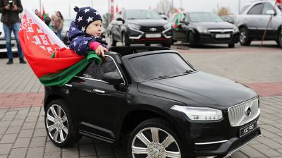 """Региональный автопробег """"За мирную Беларусь!"""""""