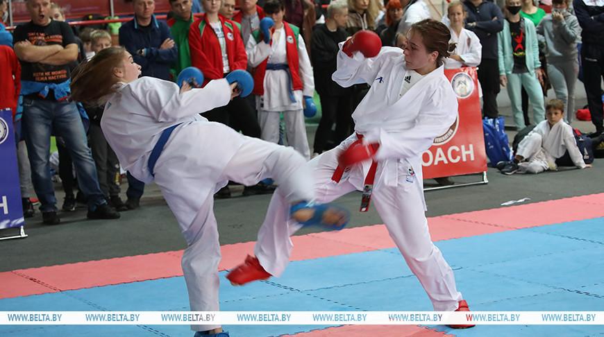 Около 600 участников собрались на турнир по карате Gomel Open Cuр