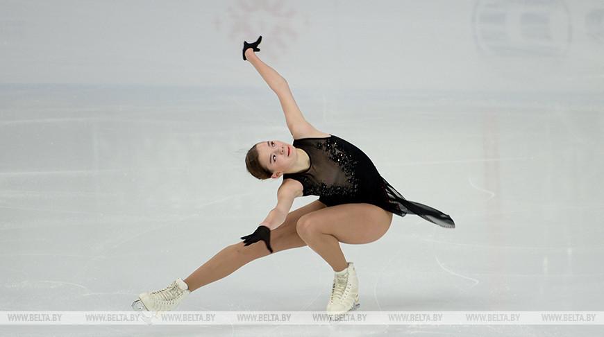 В Минске завершился турнир по фигурному катанию Ice Star 2020