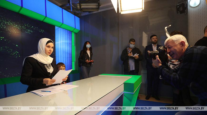 Журналисты Союзного государства посетили Чеченскую Республику
