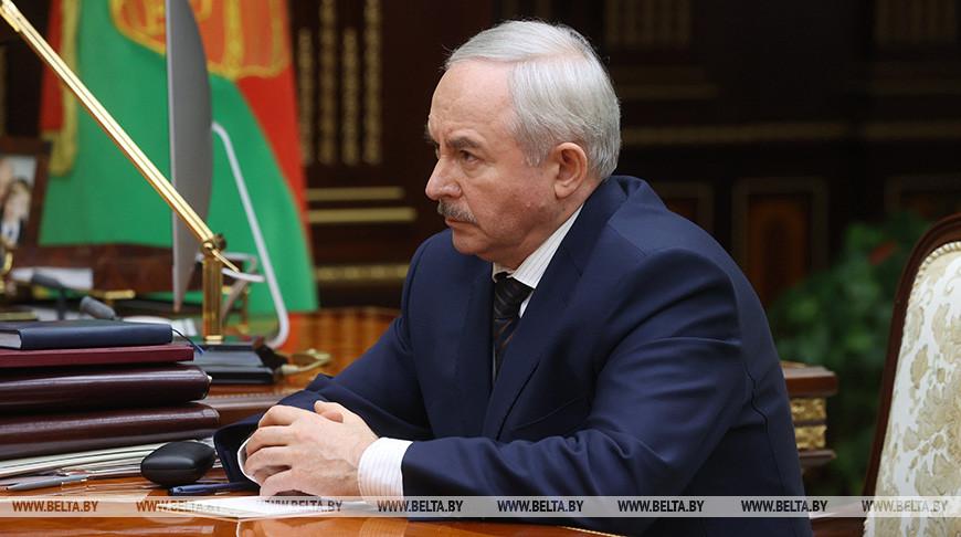 Лукашенко принял с докладом Шеймана