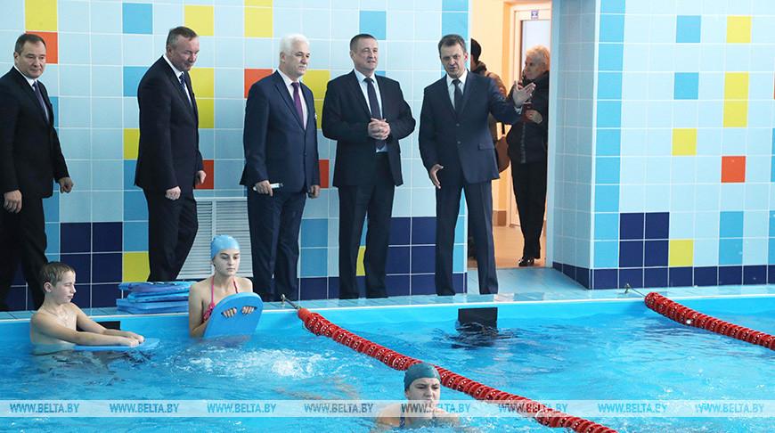 Обновленный бассейн открыли в Горецком районе