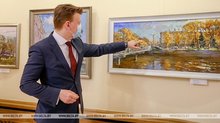 Выставка Василия Пешкуна открылась в Министерстве иностранных дел