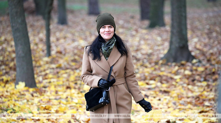 Теплая осень в Гомельской области