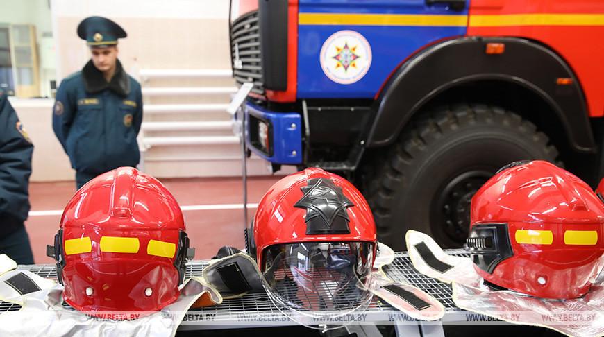 Новое пожарное депо открыли в Петрикове