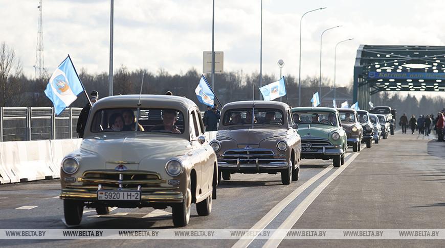 В Полоцке открыли мост после реконструкции