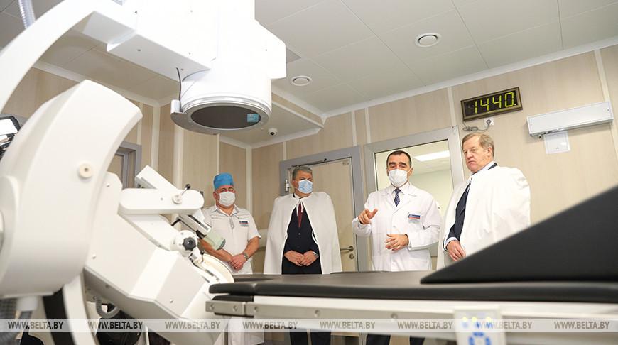 Кабинет литотрипсии модернизировали в Брестской облбольнице