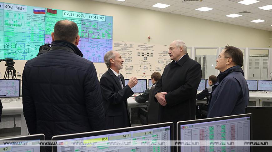 Лукашенко на БелАЭС: сегодня исторический момент - Беларусь становится ядерной державой