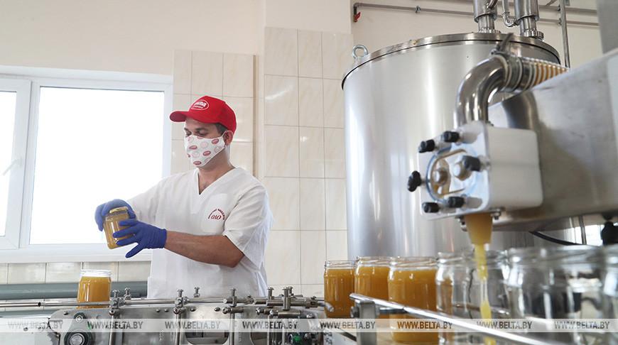 Производственный участок по розливу меда запустили в Славгороде