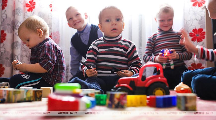 В Малоритском районе открыли третий детский дом семейного типа