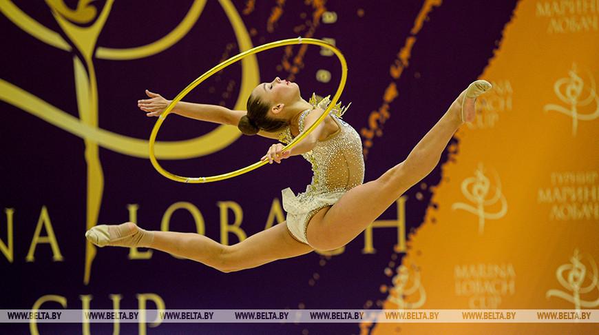 Турнир по художественной гимнастике на призы Марины Лобач прошел в Минске