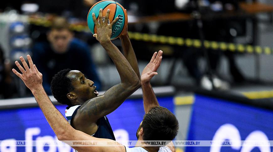 """Баскетболисты """"Цмокi-Мiнск"""" проиграли третий матч в Единой лиге ВТБ"""