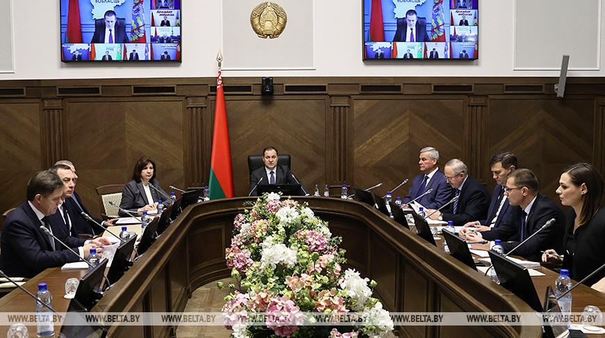 Состоялось первое заседание оргкомитета по подготовке и проведению шестого Всебелорусского народного собрания