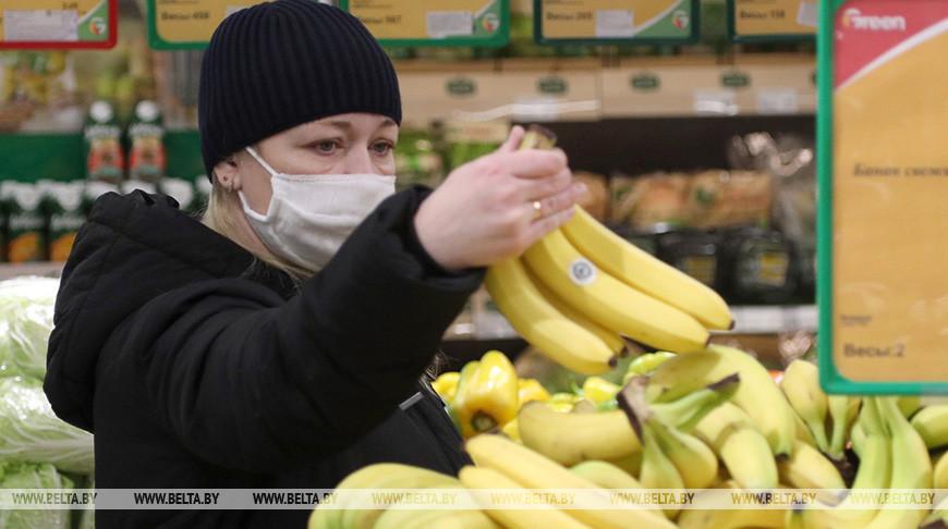 Могилевские магазины работают в условиях масочного режима