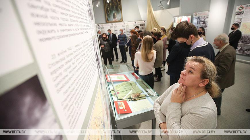 Выставка о белорусских защитниках Сталинграда открылась в музее истории ВОВ