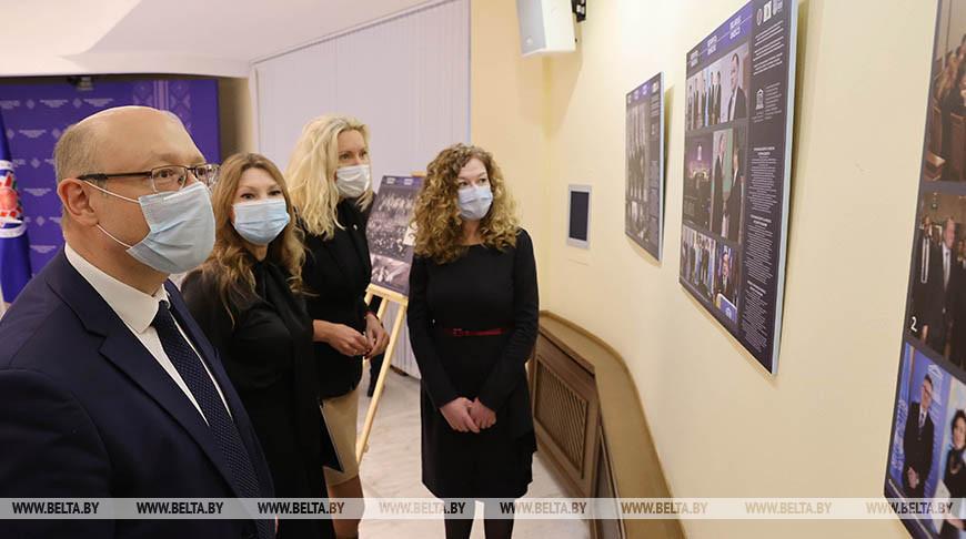 Выставка в честь 75-летия ЮНЕСКО открылась в Министерстве иностранных дел