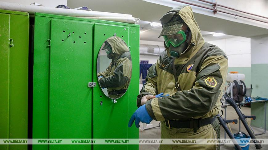 Профилактика коронавируса на Минском моторном заводе