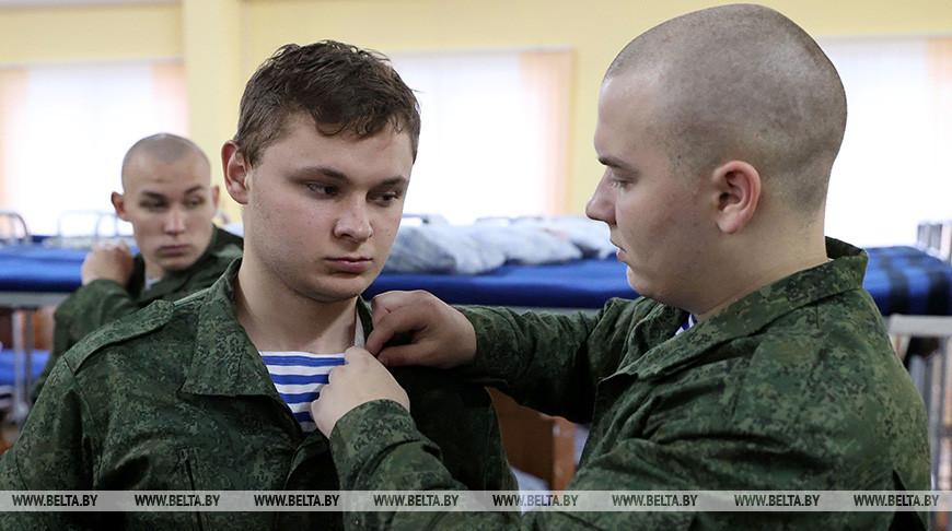 Около 700 новобранцев пополнят ряды витебских десантников